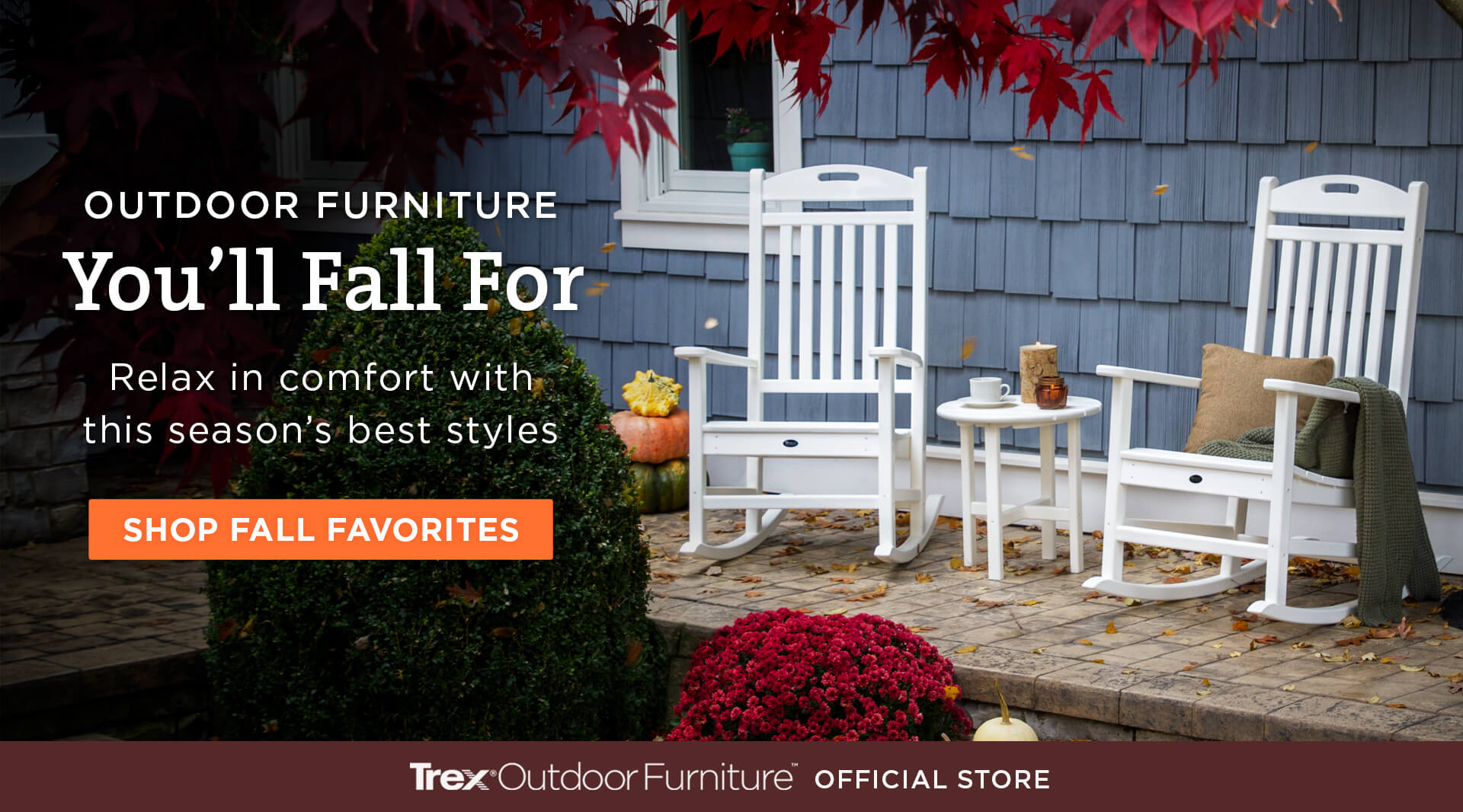 Outdoor Furniture You'll Fall For