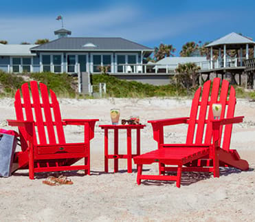 Adirondack Chairs Rocking Dining Benches Gliders Ottomans And Tables
