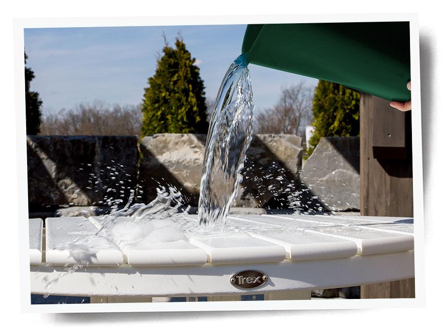 Trex Outdoor Furniture Cleaning Splash