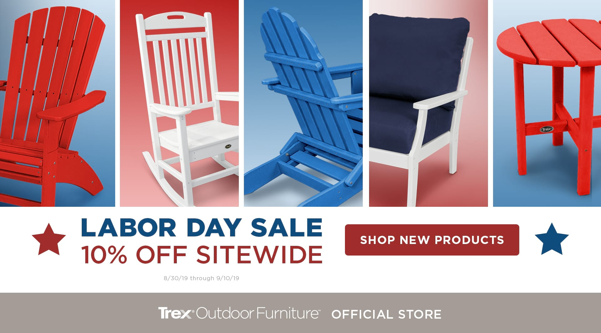 Trex® Outdoor Furniture™ | Stylish, Comfortable, Durable
