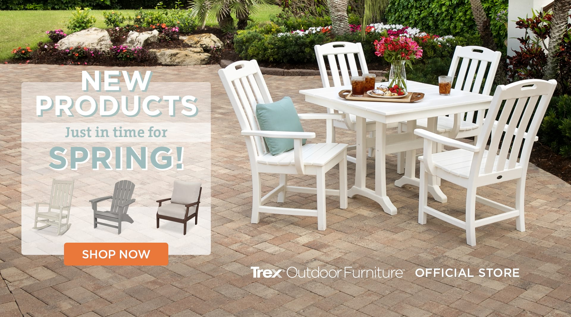 New Products Just in time for Spring!