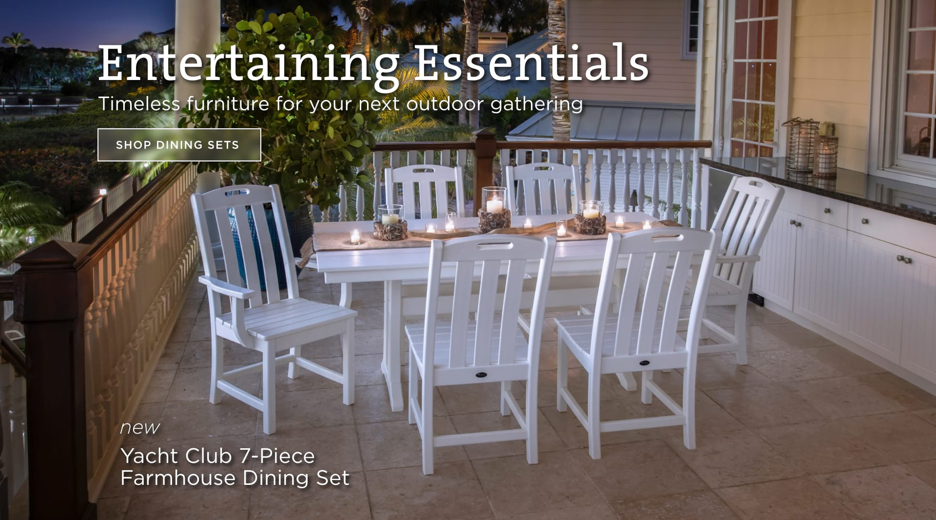 Entertaining Essentials - Shop Dining Sets