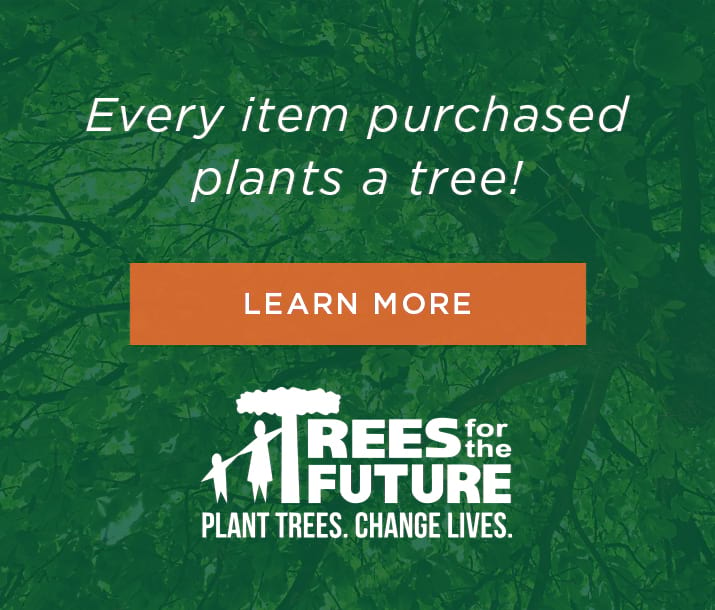 Trex Outdoor Furniture and Trees for the future